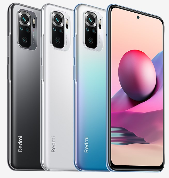 Redmi Note 10s colours
