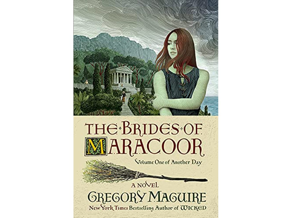 The cover of 'The Brides of Maracoor' by Gregory Maguire